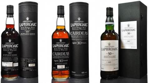 Top performing Laphroaig trio.