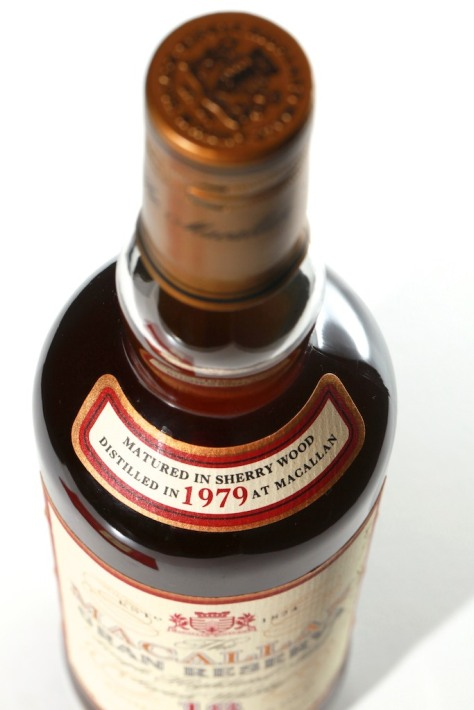MACALLAN Gran Reserva 1979_label_ 11