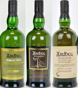 Record Values for Ardbeg