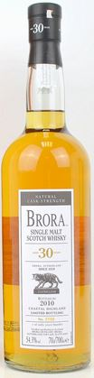 Brora 2010 30 year old