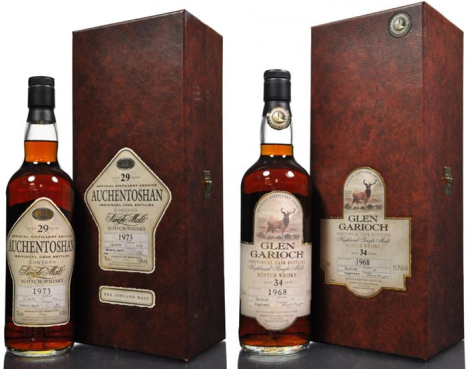 Auchen-Garioch brothers. Morrison Bowmore distilleries continue to show upside.