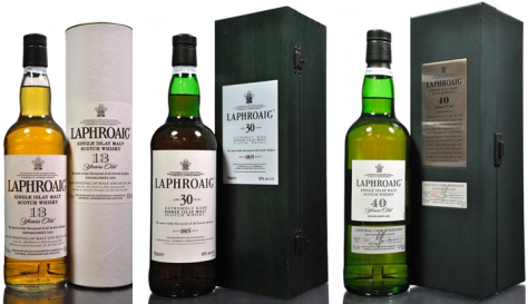 Top performing trio of Laphroaig.