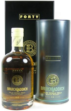 Bruichladdich's most expensive bottle at auction in the UK