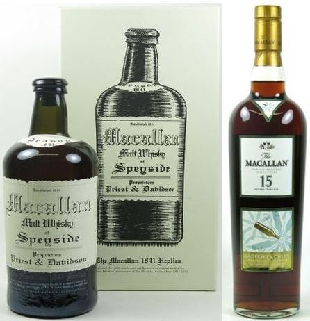 New record prices for Macallan bottles