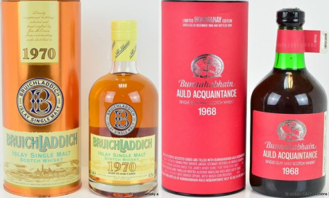 Older vintages from Bruichladdich and Bunnahabhain see upside