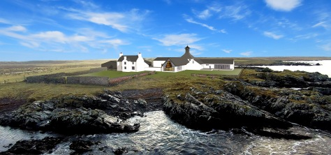Gartbreck Distillery impression. Set to be Islay's newest