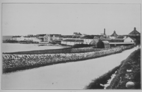 Lochindaal distillery. Diageo Archives Image