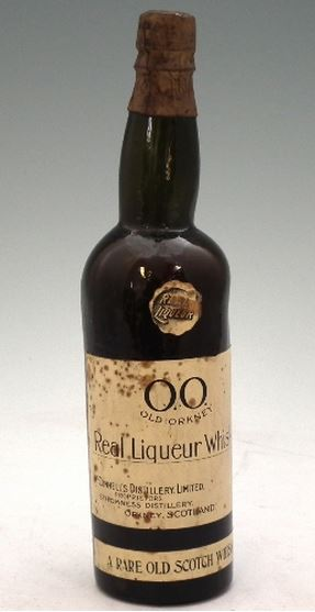 A bottle of Old Orkney from Stomness/Man O' Hoy distillery. Sold at auction for £2,500 in 2012