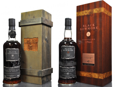 A brace of Bowmore's Black