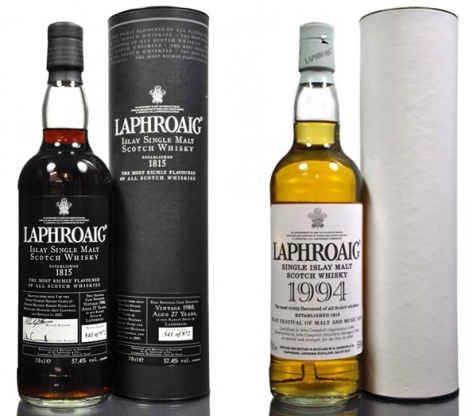 Laphhroaig collectible pace-setters