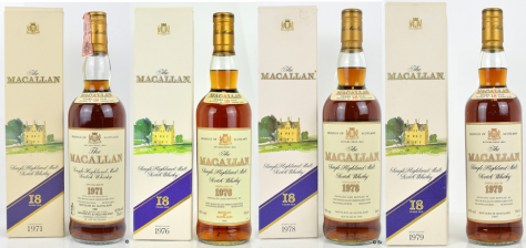 Vintage Macallan 18's. Still in high demand