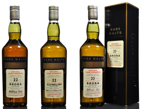 Significant growth for Rare Malts Brora and Clynelish