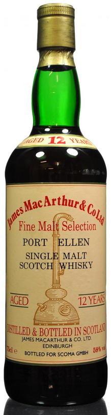 Port Ellen James MacArthur's 12 year old