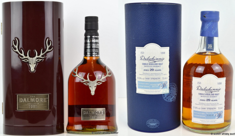 Impressive performances from older Dalmore and Dalwhinnie bottles