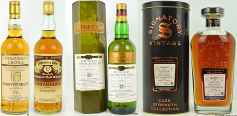 Independent bottles from  silent distilleries remain on form
