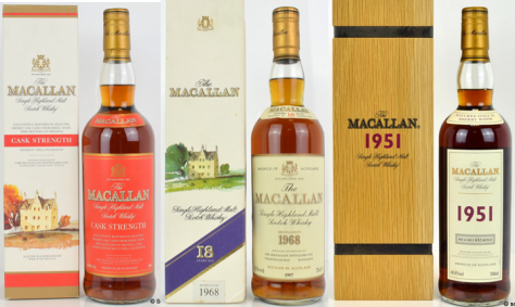 Older collectable Macallan maintains collectors credentials