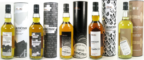 Not necessarily the rarest bottles in the world but An Cnoc's Arkle first release performs well