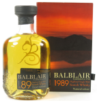Local (to RW101 anyway) hero Balblair's 1989 vintage