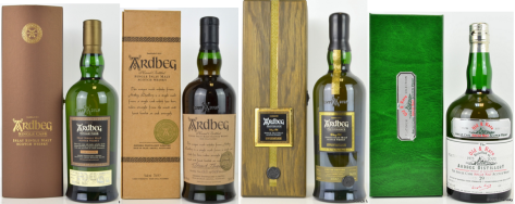 Ardbeg single casks. Becoming very hard to find in a world of volume NAS releases