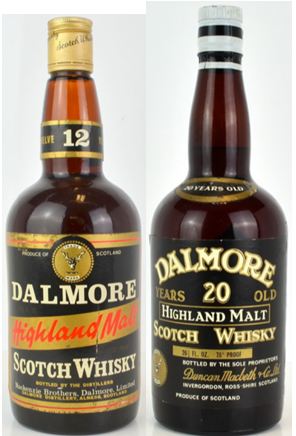 Long extinct releases and older vintages underpin Dalmore as a collectable
