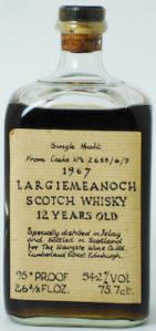 Bowmore Largiemeanoch 1967