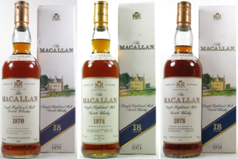 Macallan 18 Year Old 1970's