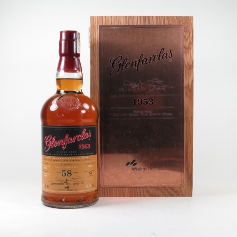 Glenfarclas 1953 Wealth Solns
