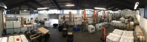 Glasgow Distillery - Our Test Lab